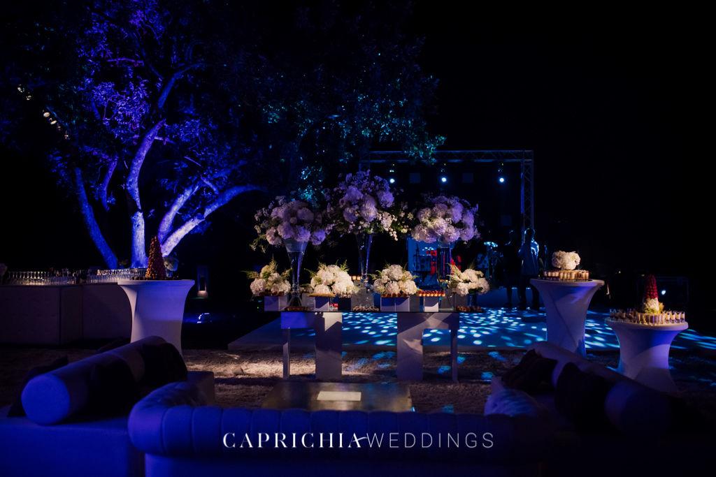 Outdoor Club setup by Caprichia
