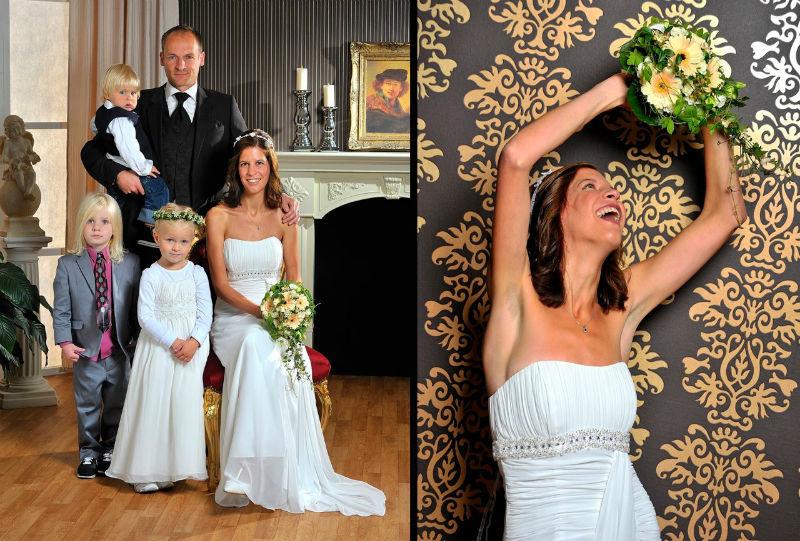 Beispiel: Portrait- und Gruppenbilder von Ihrer Hochzeit, Foto: Tom River Photography.