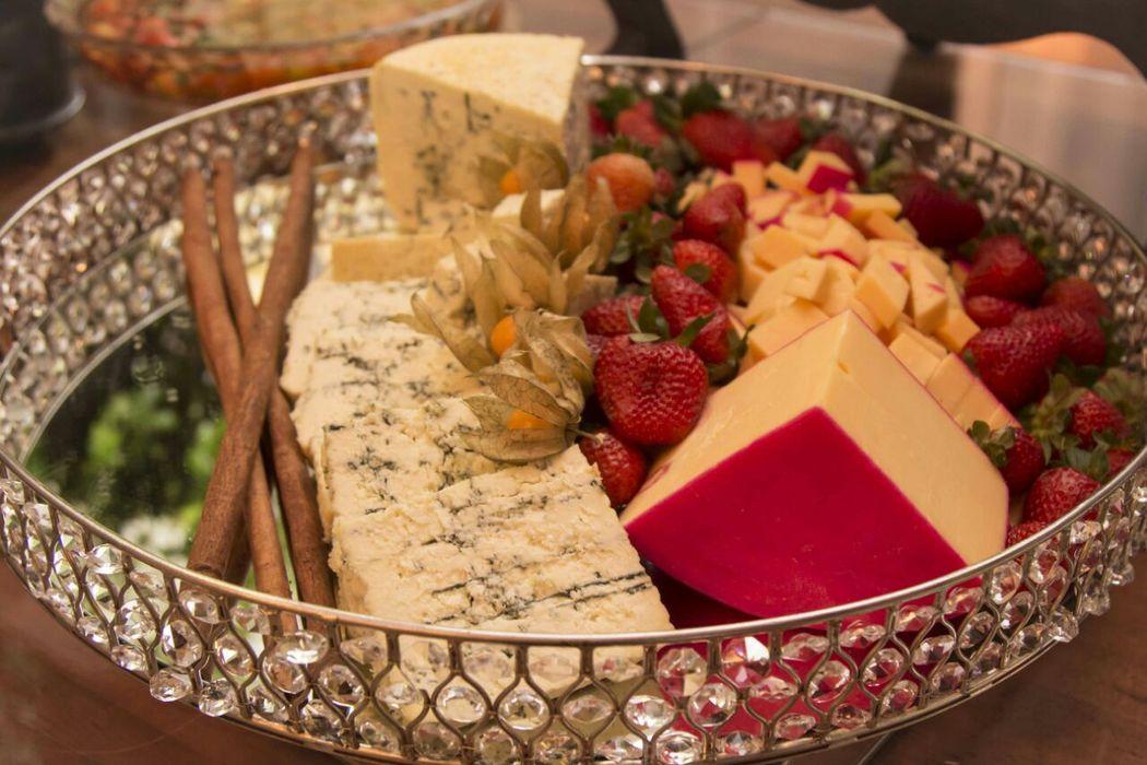 Buffet - Seleção de queijos nobres