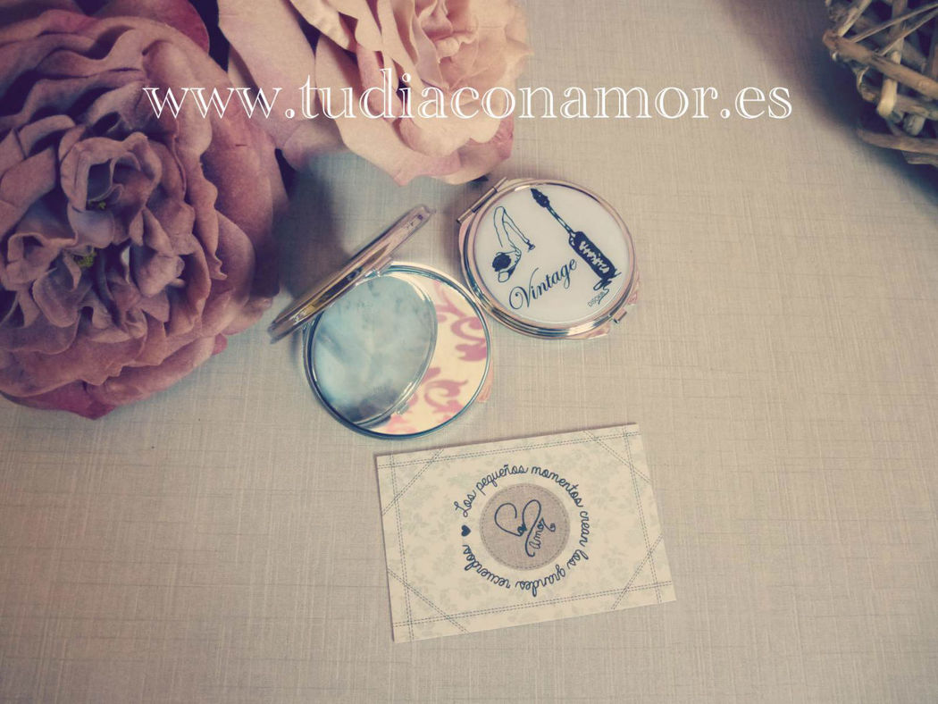Espejitos vintage, detalle mujer