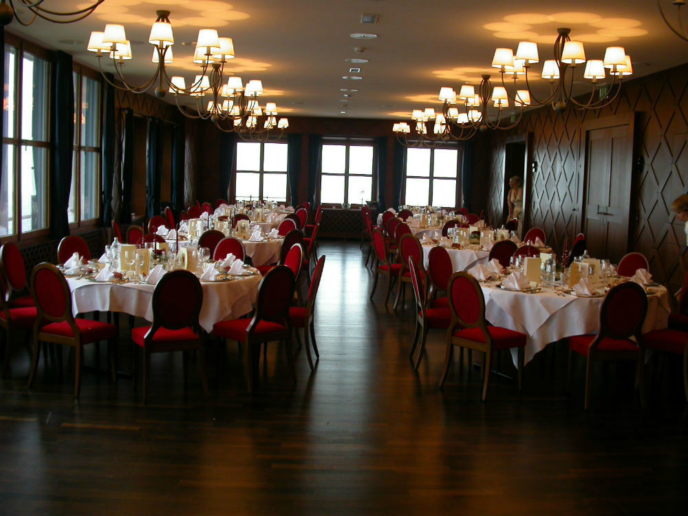 Beispiel: Location, Foto: Burgrestaurant Gebhardsberg.