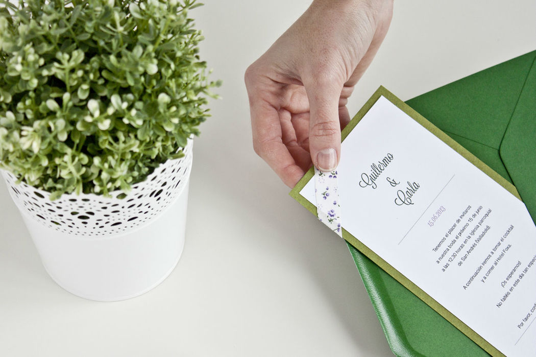 Invitacion | Think in flowers