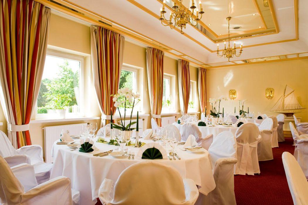 Beispiel: Bankett, Foto: Hotel Birke