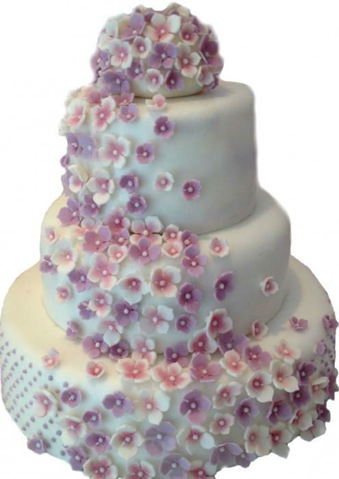 Beispiel: Hochzeitstorte, Foto: Style your Cake.