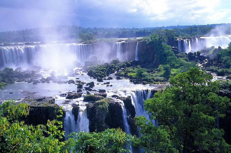 Beispiel: Wasserfälle, Foto: gateway-brazil.