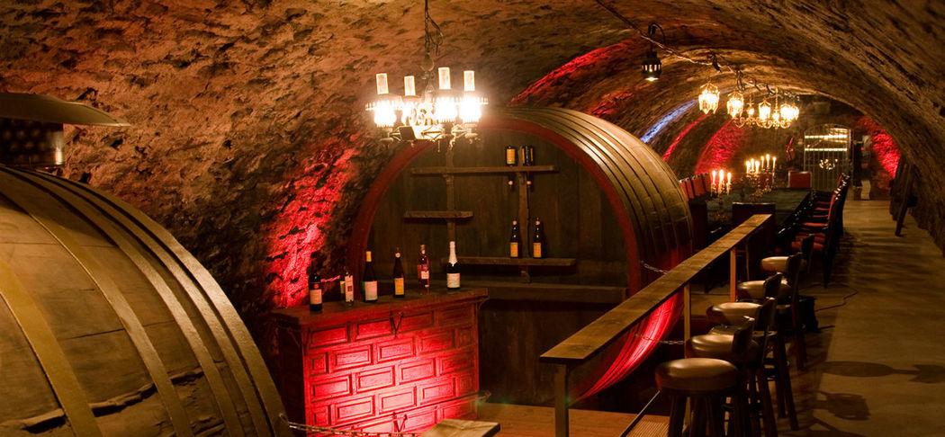 Beispiel: Bronzesaal, Foto: Gewölbekeller Burg Weisenau.