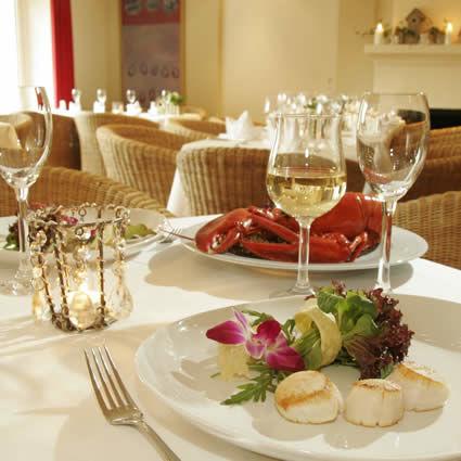Beispiel: Gastronomie, Foto: Landhaus am See.