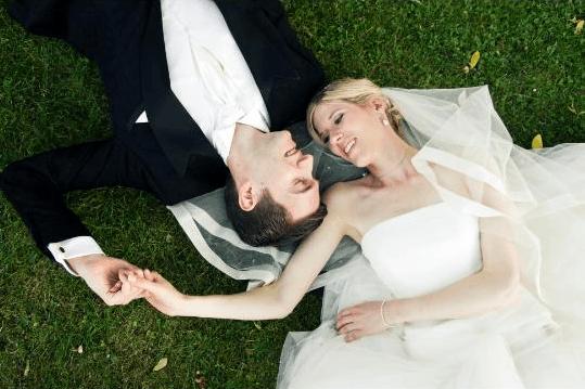 Beispiel: Brautpaar, Foto: Mio Make-up Artist.