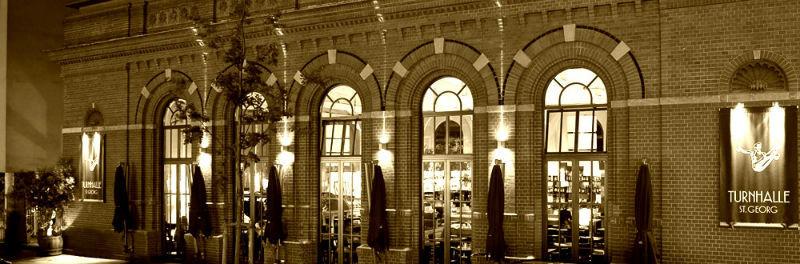 Beispiel: Außenansicht, Foto: Turnhalle St. Georg.