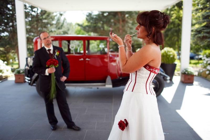Beispiel: Brautpaar, Foto: Cliff Hotel Rügen.
