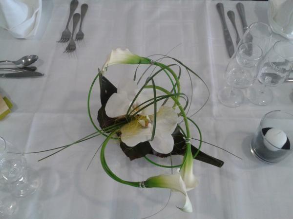 Fleurs de caract re mariage - Bouquet de table pour mariage ...