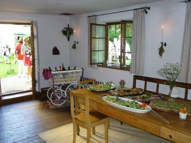 Beispiel: Innenraum, Foto: Lola Montez Haus.
