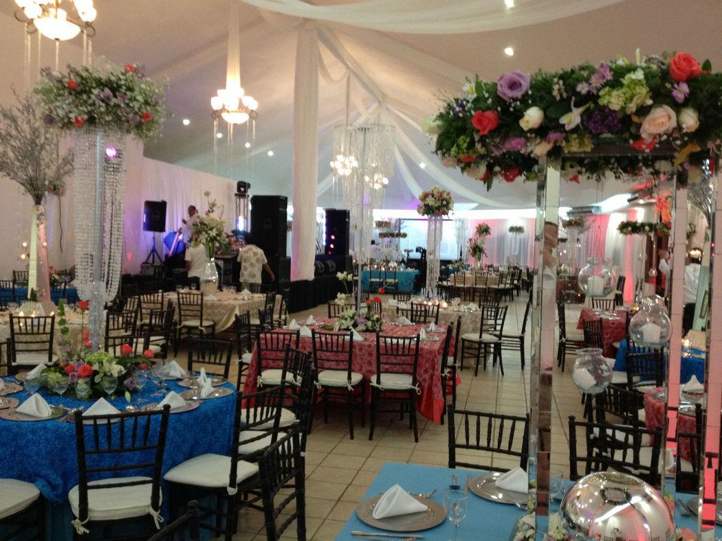 Eventos inolvidables en nuestro Salón de Club de Playa. Hotel Doña Juana Cecilia en Tamaulipas