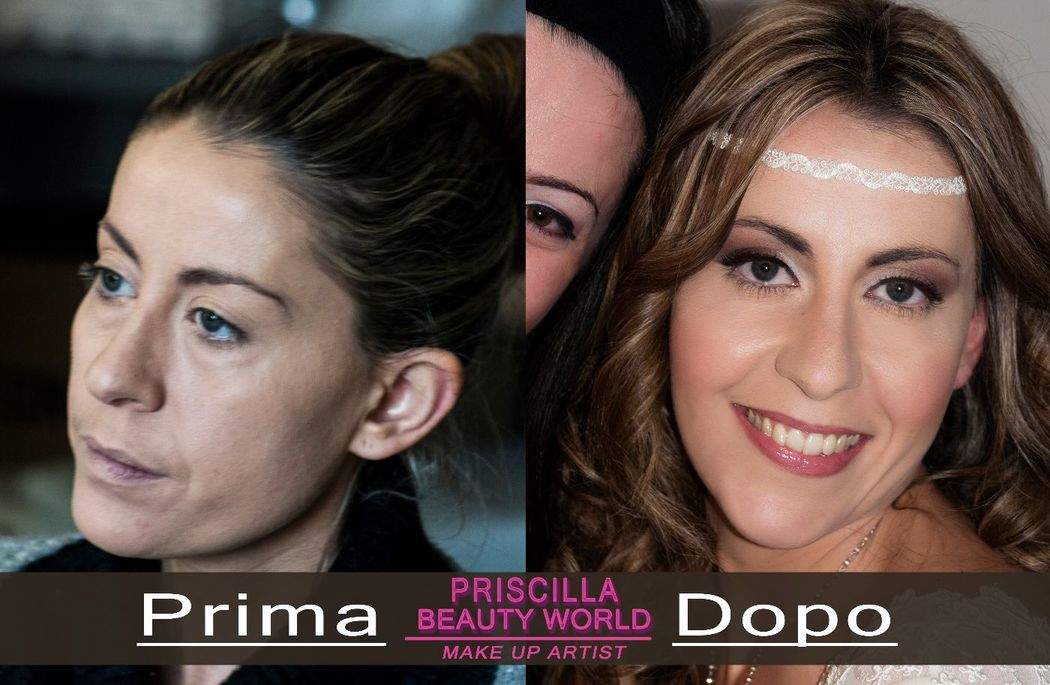 Priscilla Beauty World: Prima &Dopo Michela