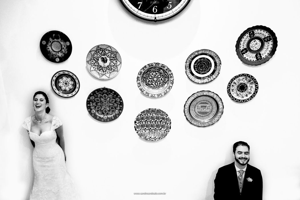 Casamento em Brasilia-DF. Momento do casal Flávia e Rafael antes de começar a animada festa de casamento. Sandro Andrade Fotografia