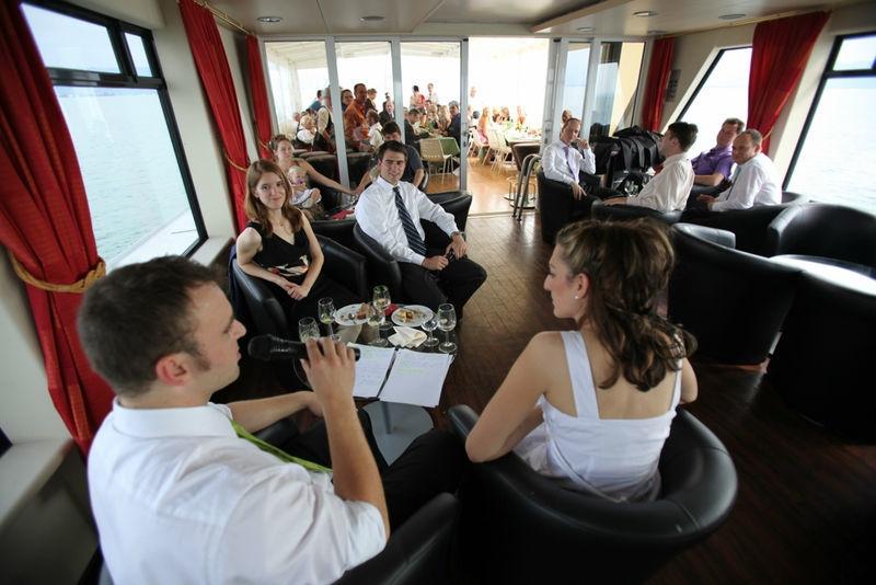Beispiel: Feiern Sie Ihre Hochzeit auf Ihrem Traumschiff, Foto: Bodenseeschifffahrt.