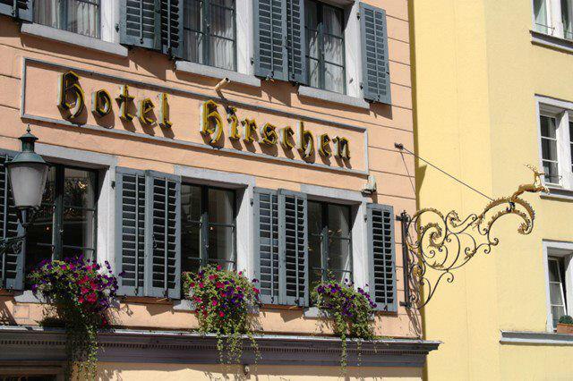 Beispiel: Wunderschön gestaltete Fassade, Foto: Hotel Hirschen.