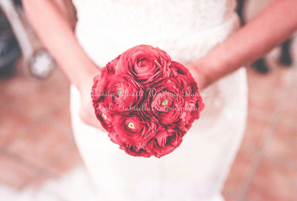 Danila Olivetti - winter wedding - bouquet