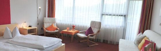 Beispiel: Zimmer, Foto: AKZENT Hotel Höhenblick.