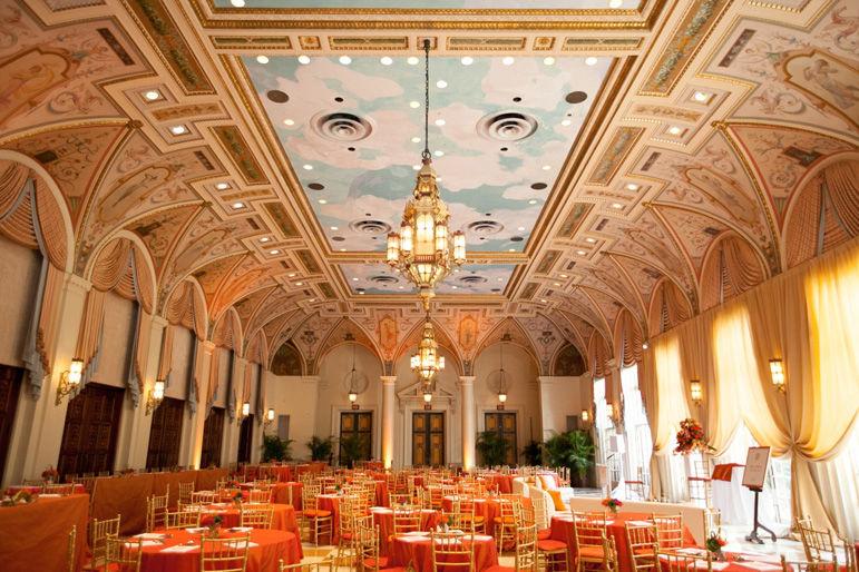 Decoración, Montaje & Ambientación Salón Banquete Interior