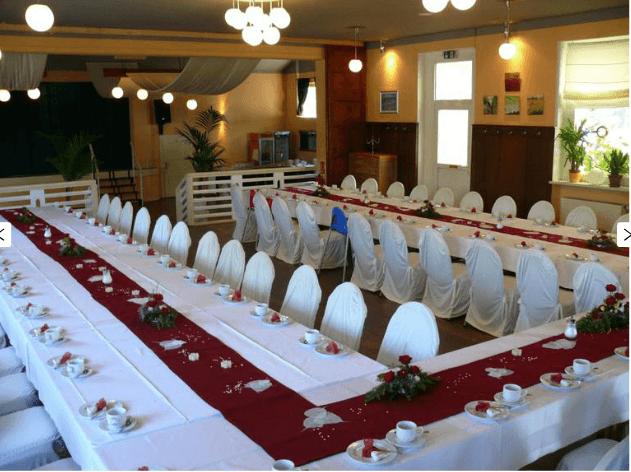 Beispiel: Räumlichkeiten und Dekoration, Foto: Kulturhaus Eutritzsch.