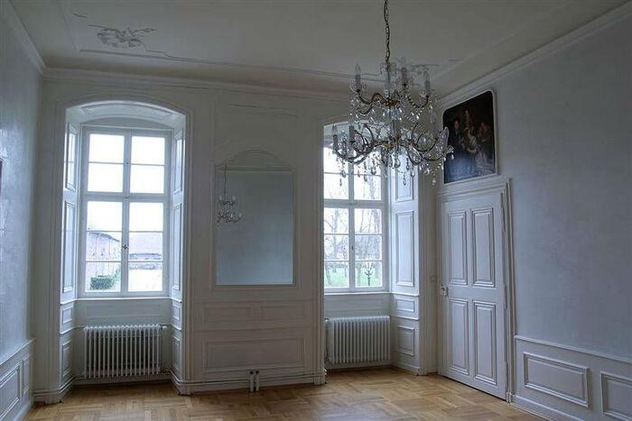 Beispiel: Weißer Salon, Foto: Schloss Langenselbold.