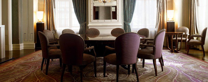 Beispiel: Library, Foto: The Dolder Grand Hotel.
