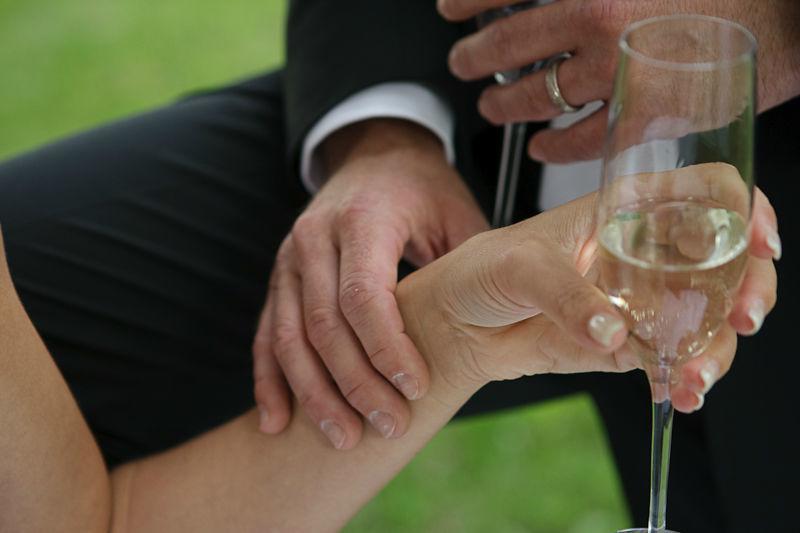 Beispiel: Zweisamkeit, Foto: Perfekte Hochzeit.