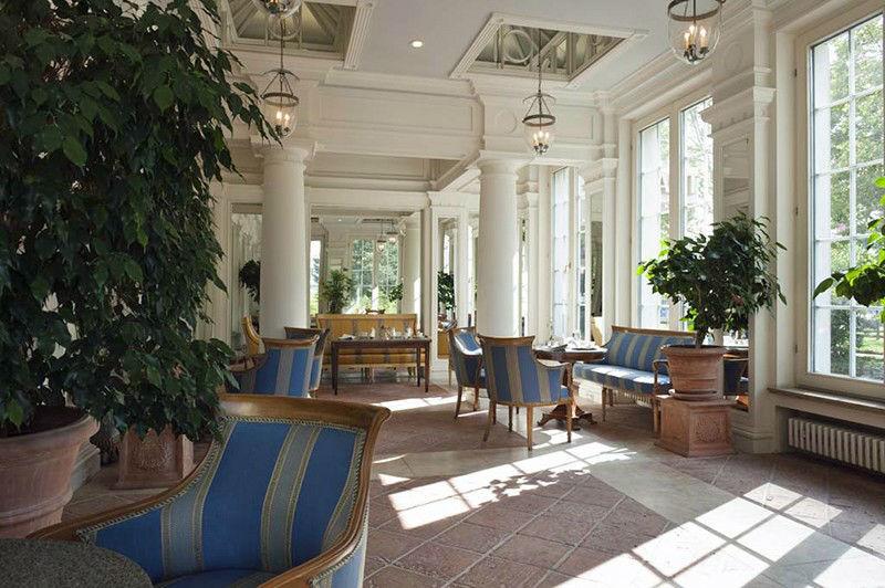 Beispiel: Wintergarten, Foto: Grandhotel Hessischer Hof.