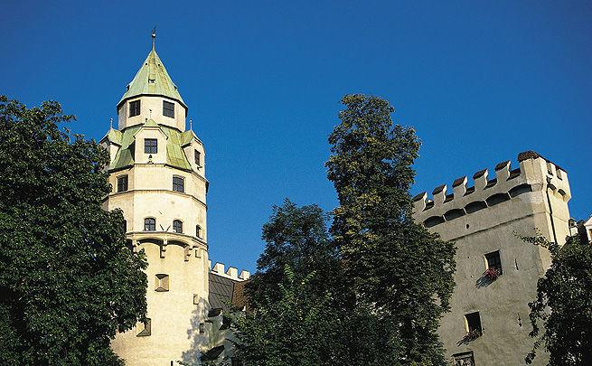 Beispiel: Außenansicht, Foto: Burg Hasegg.