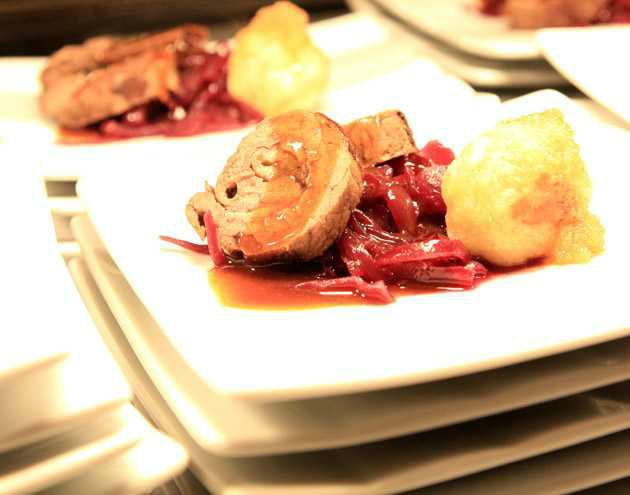 Beispiel: Köstliche Menüs, Foto: First Catering.