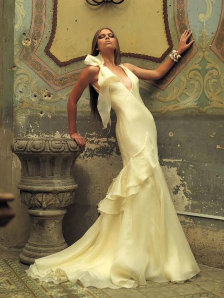 Vestido de novia por Alberto Rodriguez, diseñador en Guadalajara