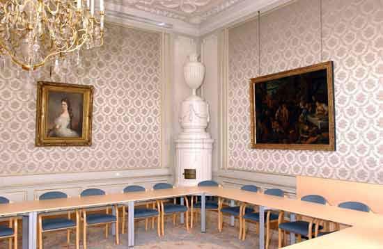 Beispiel: Sisizimmer, Foto: Bundeskanzleramt - Schloss Laudon.