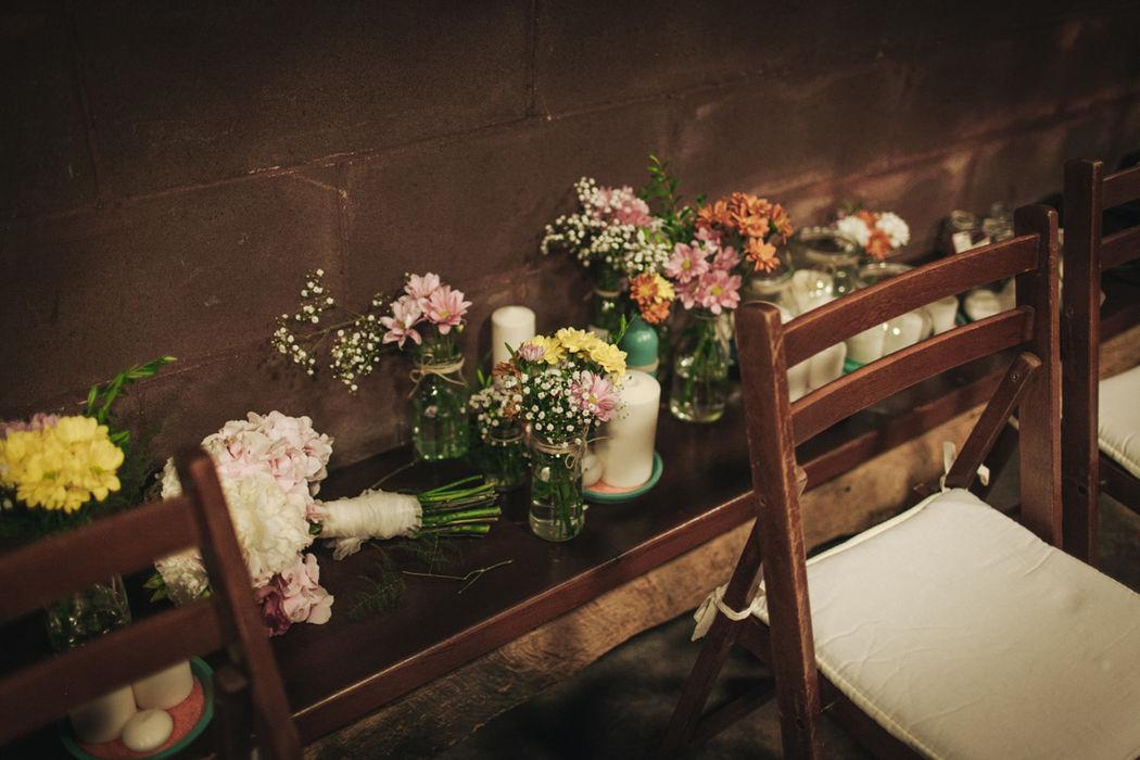 Detalles en la boda de Rebeca y Jose.