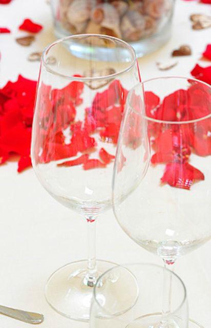Beispiel: Dekoration, Foto: Wein- und Friesenstube.