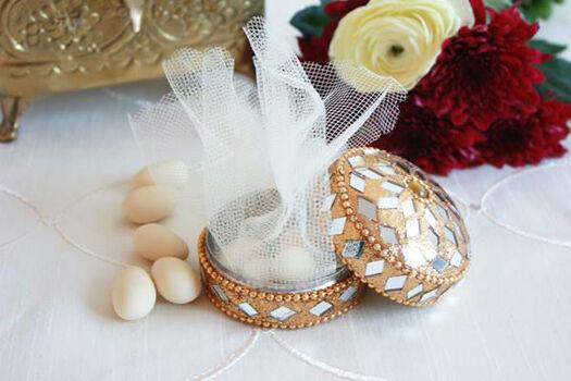 Beispiel: Hochzeitsmandeln, Foto: evetichwill.