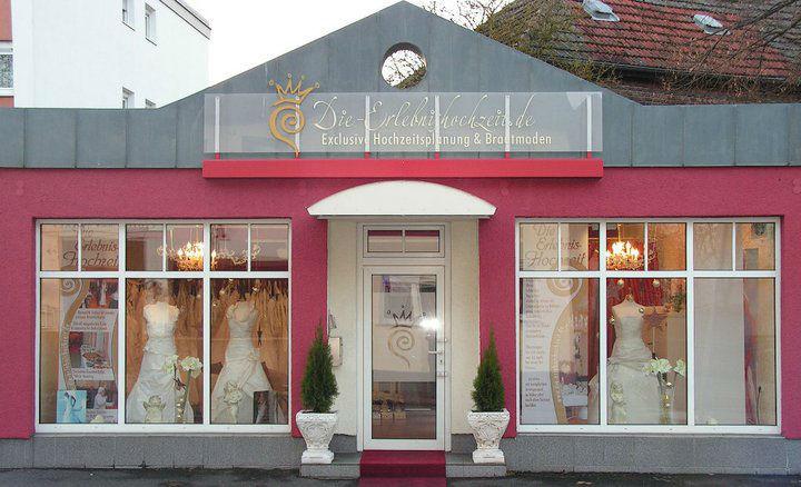 Beispiel: Brautmodengeschäft, Foto: Die Erlebnishochzeit Limburg.
