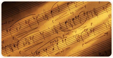 Beispiel: Noten, Foto: Annett Music.