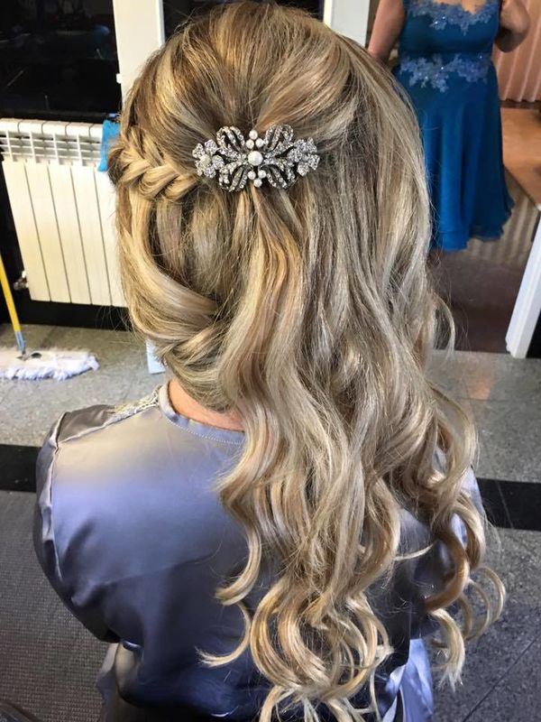Penteado Noiva Diana 2016