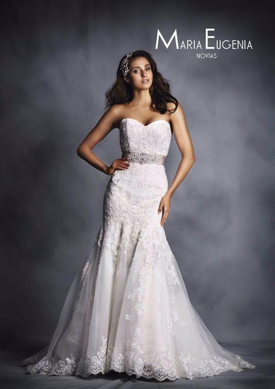 Vestido 2506 Alfred Angelo 2015 Linea Premium de Maria Eugenia