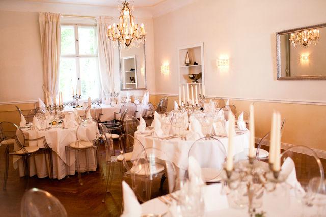 Beispiel: Hochzeitsgedeck, Foto: Gut Schloß Golm.