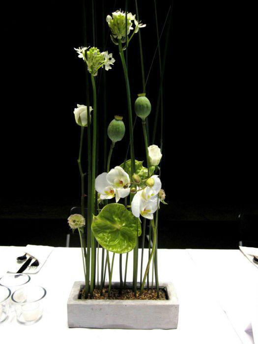 Beispiel: Tischgesteck, Foto: Idea Verde.