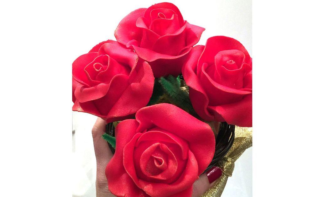 Cakepops de rosas