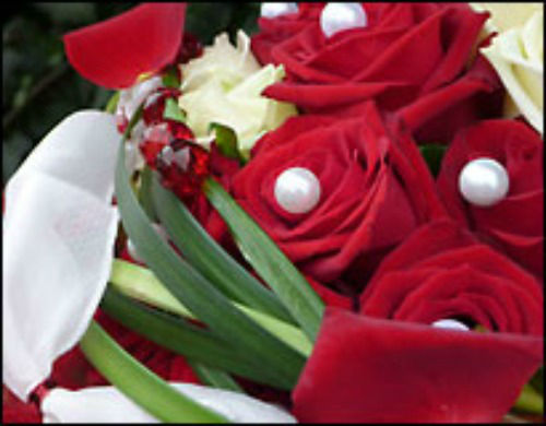 Beispiel: Brautstrauß, Foto: Les Fleurs Vagabondes.