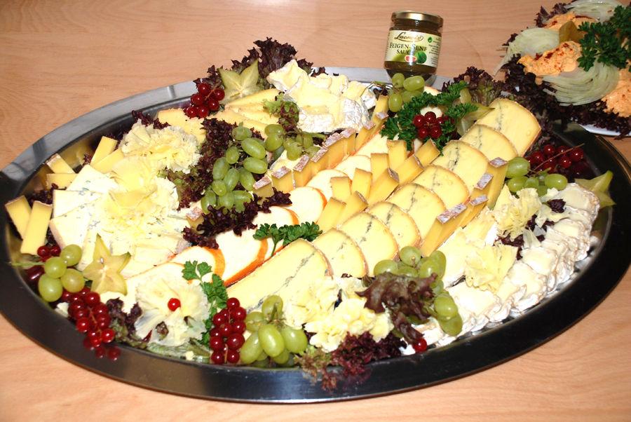 Beispiel: Käseplatte, Foto: Büttnerstuben.