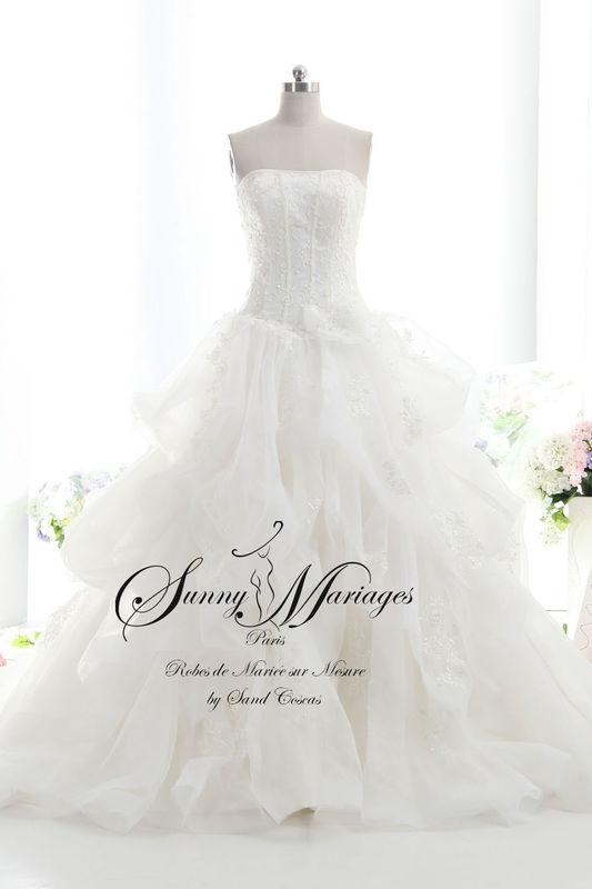 robe de mariée, collection 2016, robe de mariée princesse