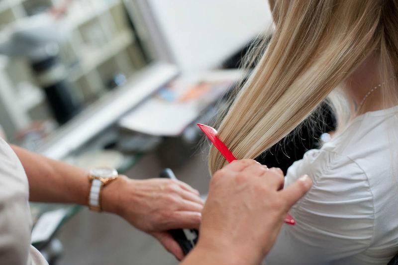 Beispiel: Hairstyling für die Braut, Foto: Jasmin's Hair & Design.
