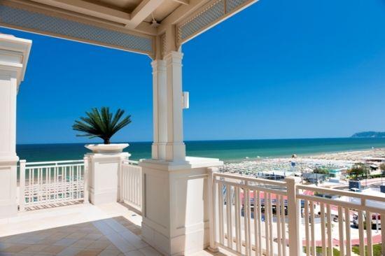 Vista dall' Hotel Corallo