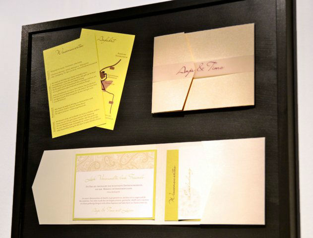 Beispiel: Individuelles Design, Foto: Die Kartenfee.