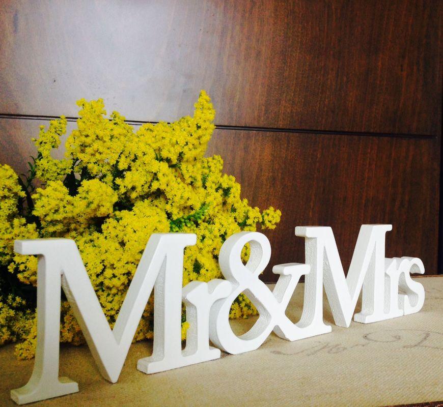 Objetos decorativos para bodas